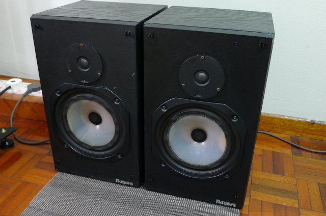 Rogers LS 4a/2 Loudspeakers (used) SOLD P1160742