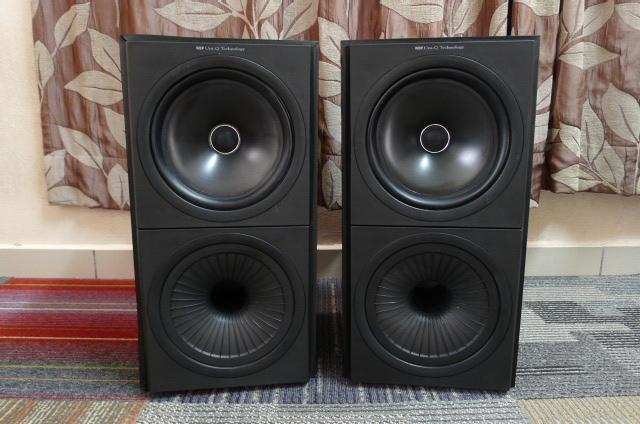 KEF Uni-Q Q60 Bookshelf Speakers (Used) P1160812