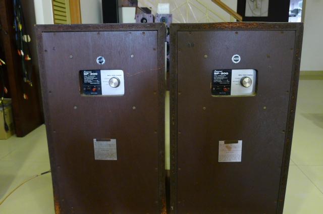 Sansui SP-200 Vintage Speakers (Used) SOLD P1160814