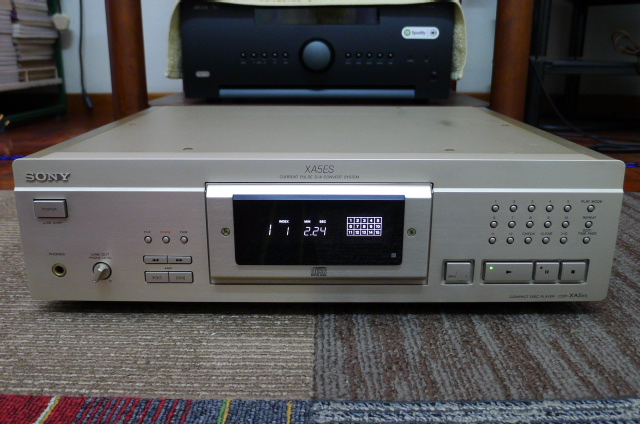 Sony CDP-XA5ES Compact Disc Player 100 Volt (Used) P1160819