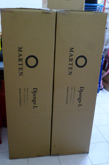 Marten Django L Floor Standing Loudspeakers (Used) P1160824