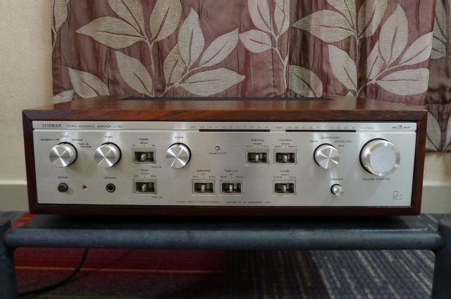 Luxman L-480 Stereo Integrated Amplifier (Used) SOLD P1160825