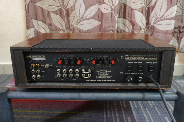 Luxman L-480 Stereo Integrated Amplifier (Used) SOLD P1160827