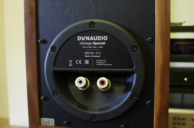 Dynaudio Heritage Special Edition Bookshelf Speakers (Used) P1160832