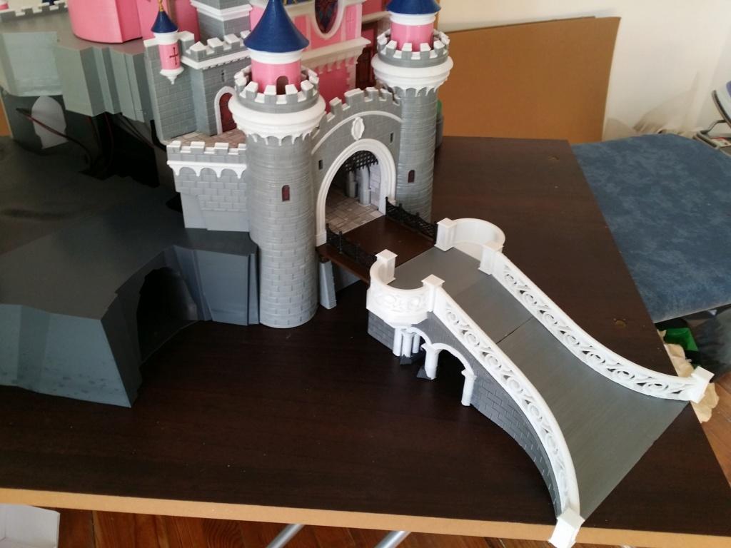 Maquette du château de la Belle au bois dormant de Disneyland Paris - Page 7 2018-114