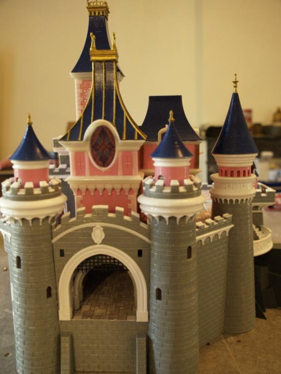 Maquette du château de la Belle au bois dormant de Disneyland Paris - Page 5 _6206512