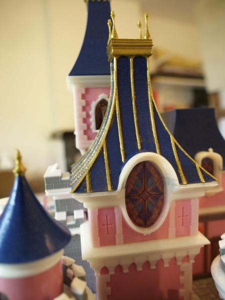 Maquette du château de la Belle au bois dormant de Disneyland Paris - Page 5 _6206516