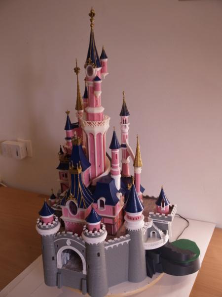 Maquette du château de la Belle au bois dormant de Disneyland Paris - Page 7 _a097912