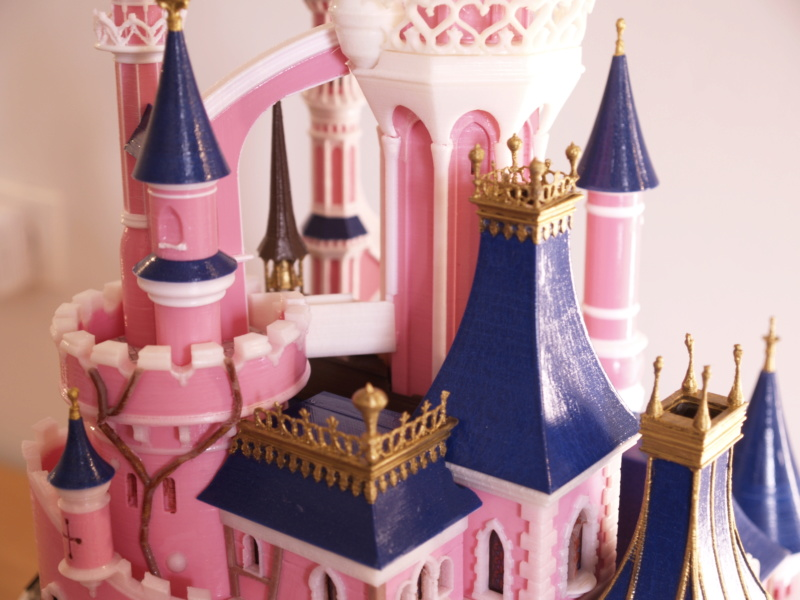 Maquette du château de la Belle au bois dormant de Disneyland Paris - Page 7 _a097913