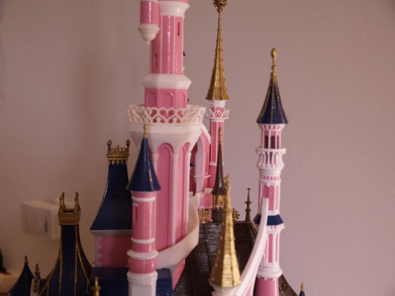 Maquette du château de la Belle au bois dormant de Disneyland Paris - Page 7 _a097914