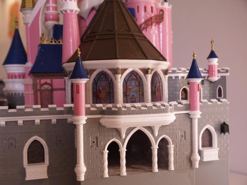 Maquette du château de la Belle au bois dormant de Disneyland Paris - Page 6 _a097918