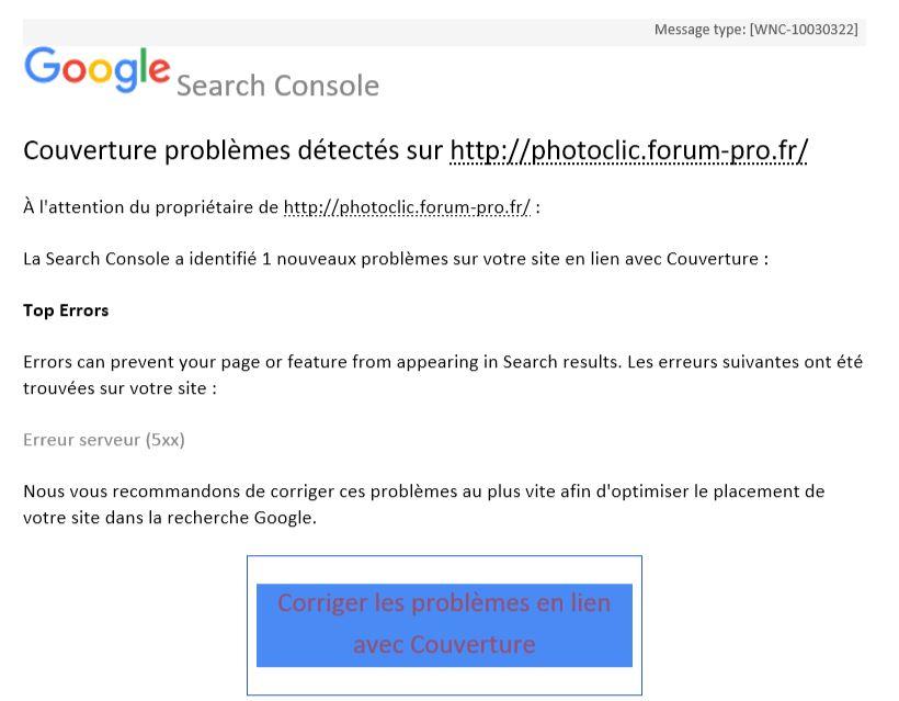 Problème google détecté Captu111