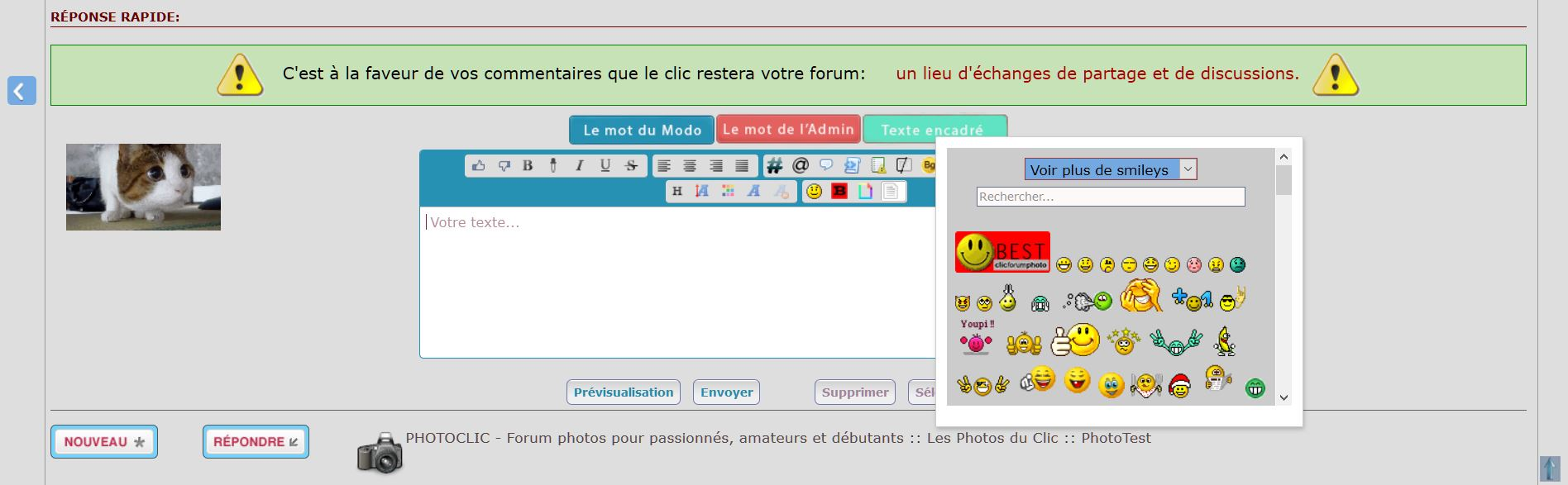 *RESOLU* [PHPBB3]Placement boite à smiley Captur59