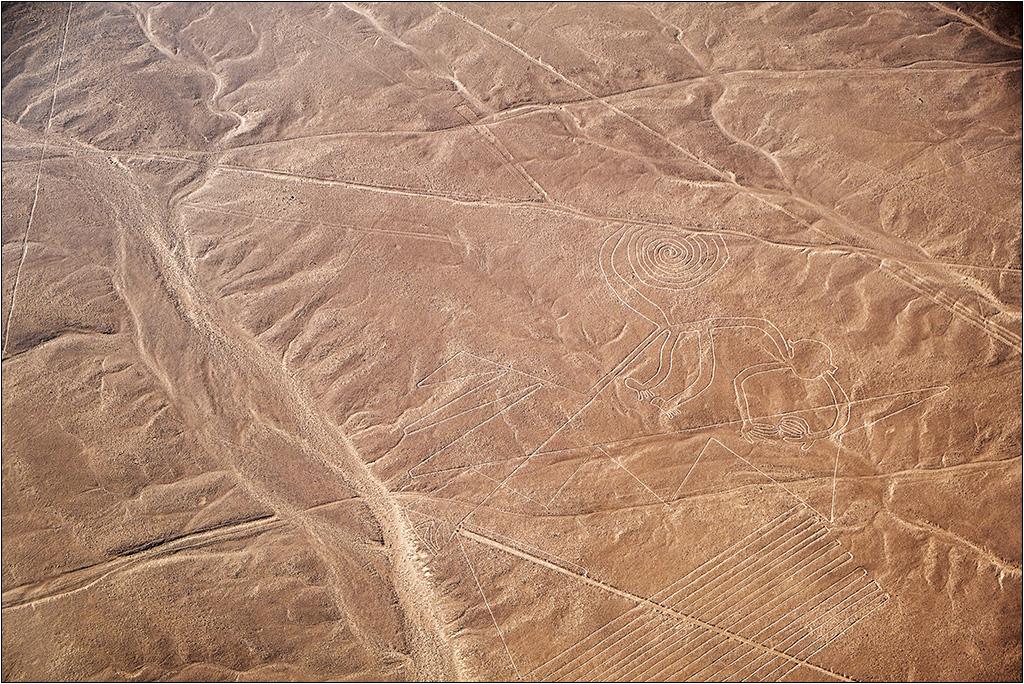 Les lignes de Nazca vues d'avion Dscf3019