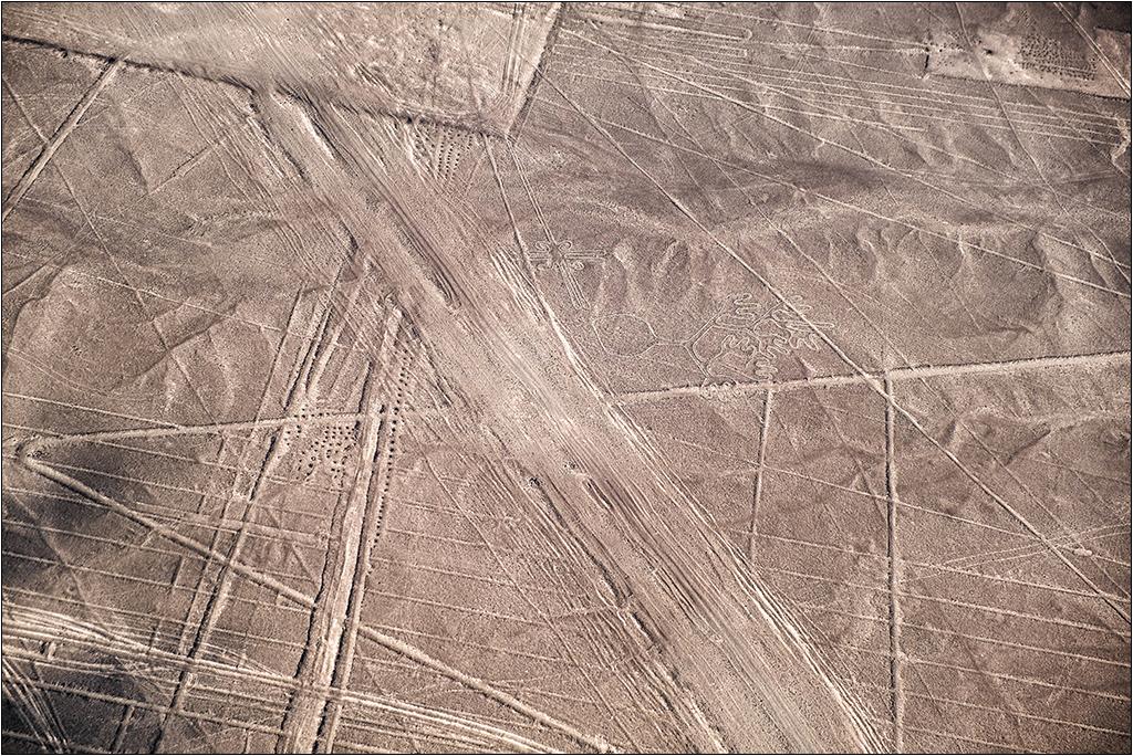 Les lignes de Nazca vues d'avion Dscf3117