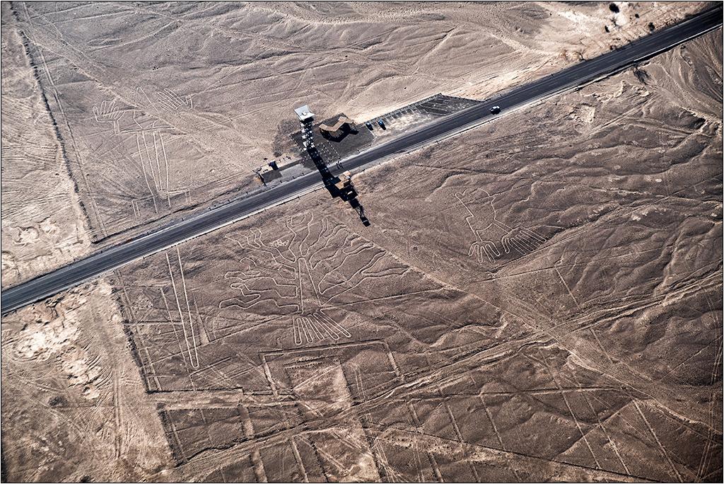 Les lignes de Nazca vues d'avion Dscf3121