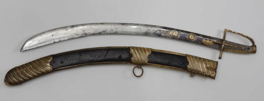 Sabre officier cavalerie légère (Hussard ?) Ancien régime   Fulls114