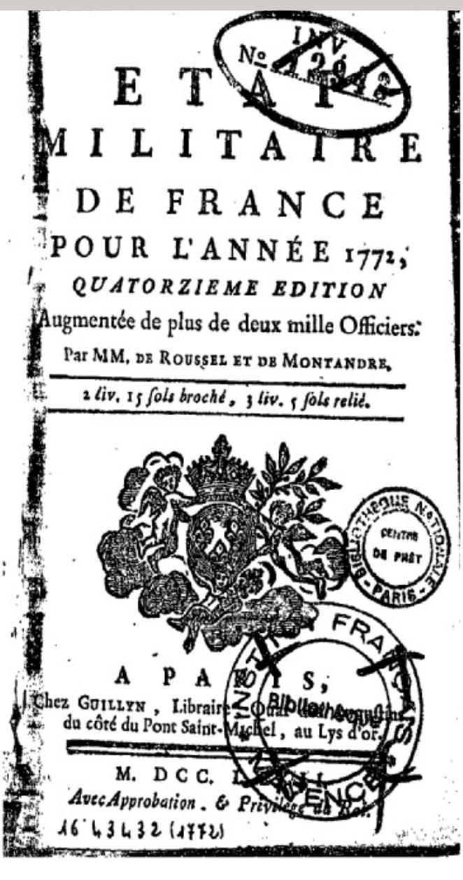 Traité des manoeuvres de l'artillerie 1773 Fullsi24