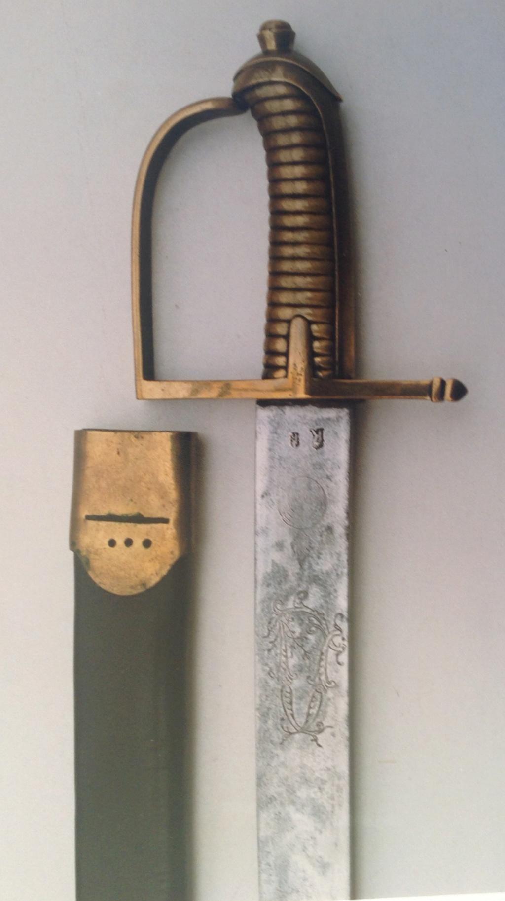 Les sabres briquets 1ère partie : les modèles 1767 et 1790 Fullsi49