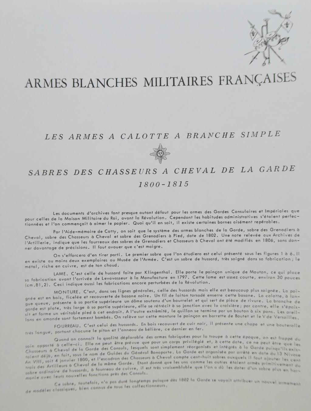 Sabre de l'artillerie à cheval de la garde des Consuls Img_1114