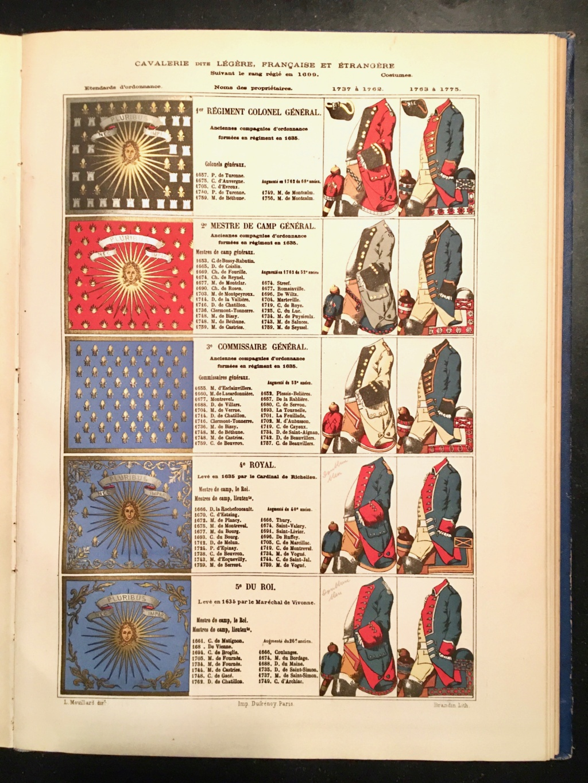 Etendard Cavalerie Ancien Régime Img_2713