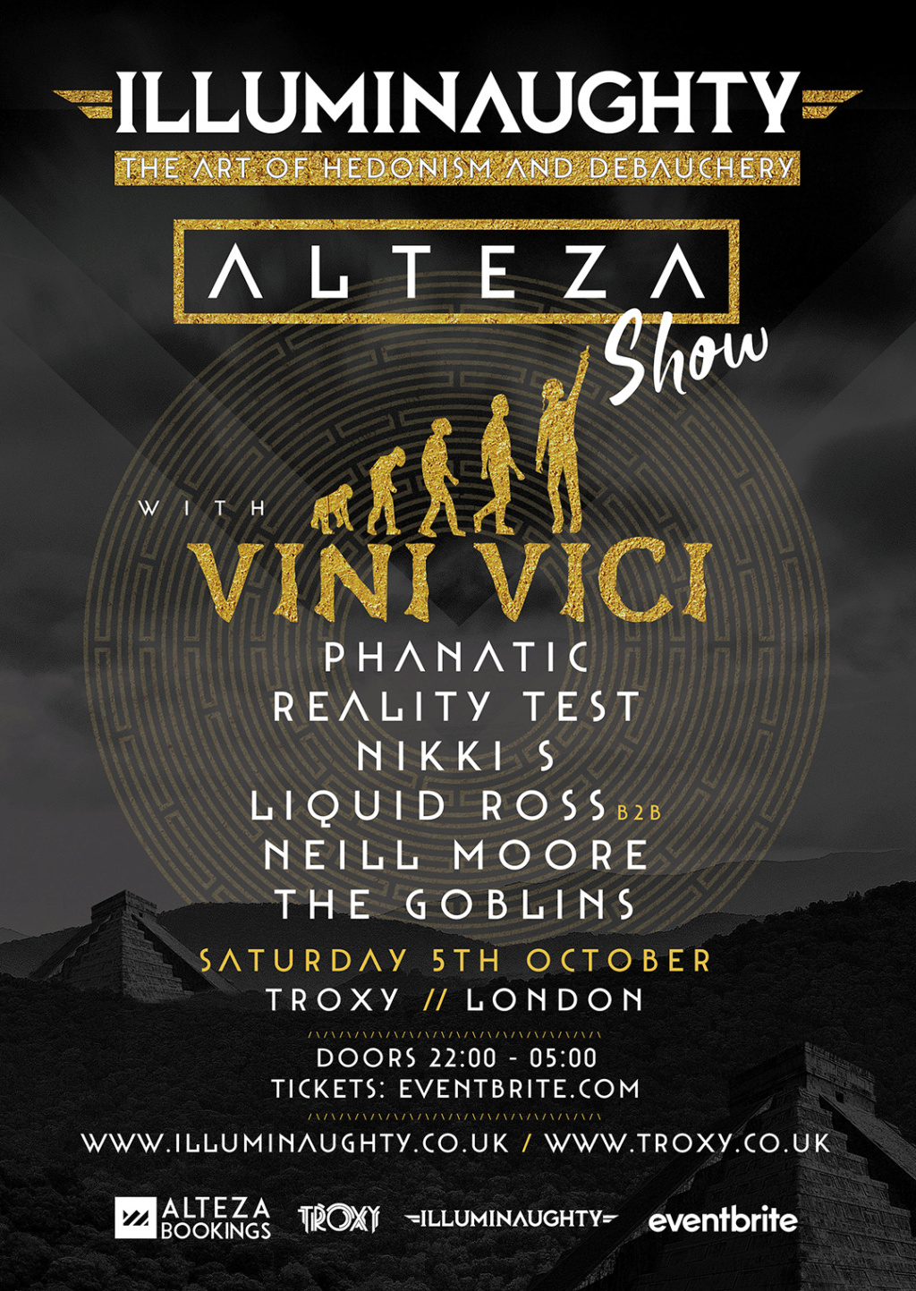 IllumiNaughty pres: Alteza Show with Vini Vici and more Octobe11