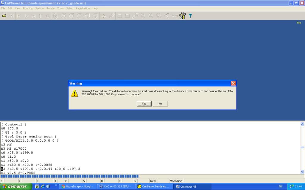 CutViewer avec Eding CNC Messag10