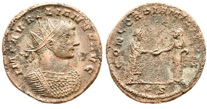 Antoninianus d'Aurélien … atelier de Sisca ? Sans_t11