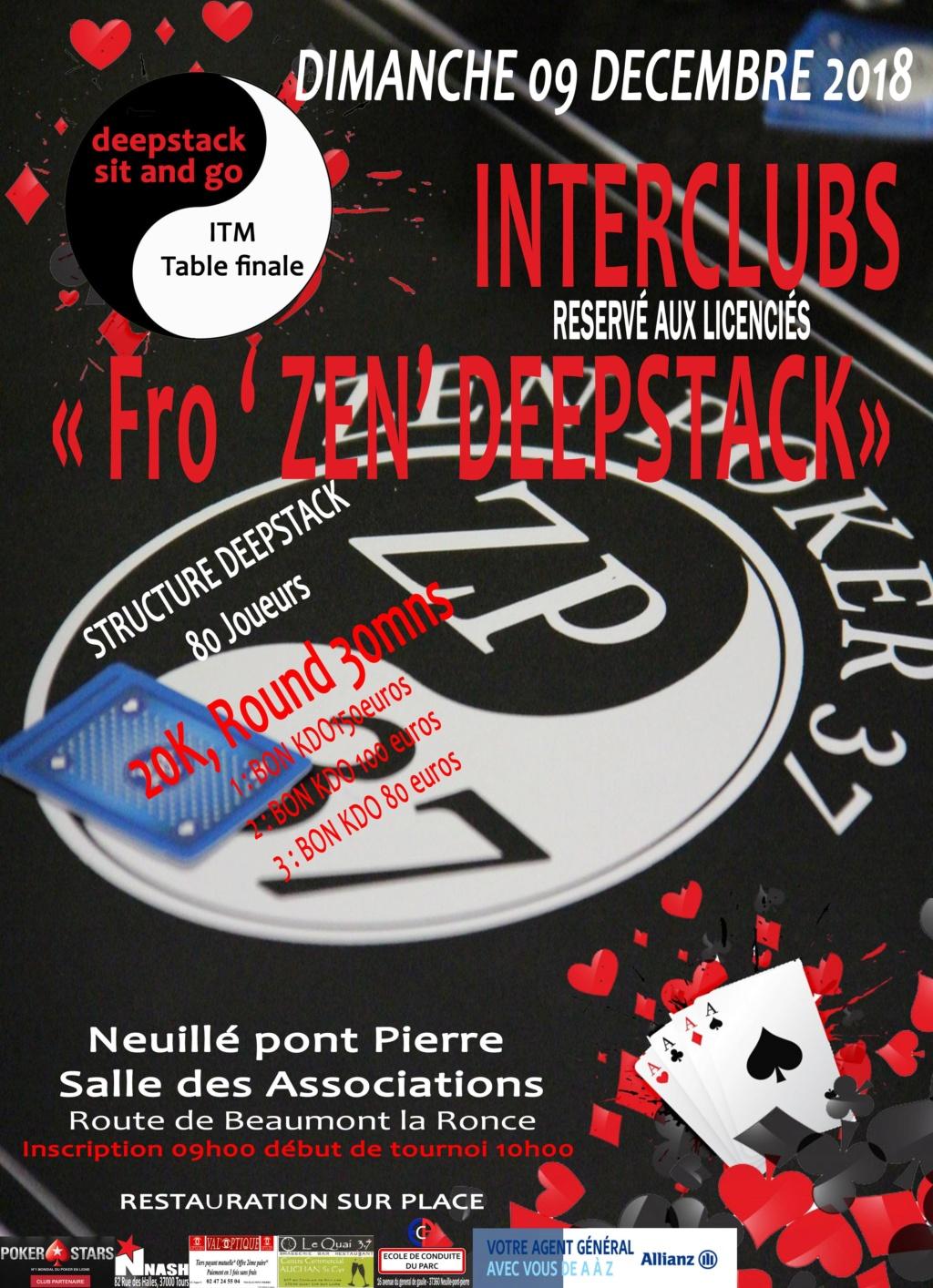 tournoi du ZEN POKER 37, dimanche 9 décembre 2018. Interc14