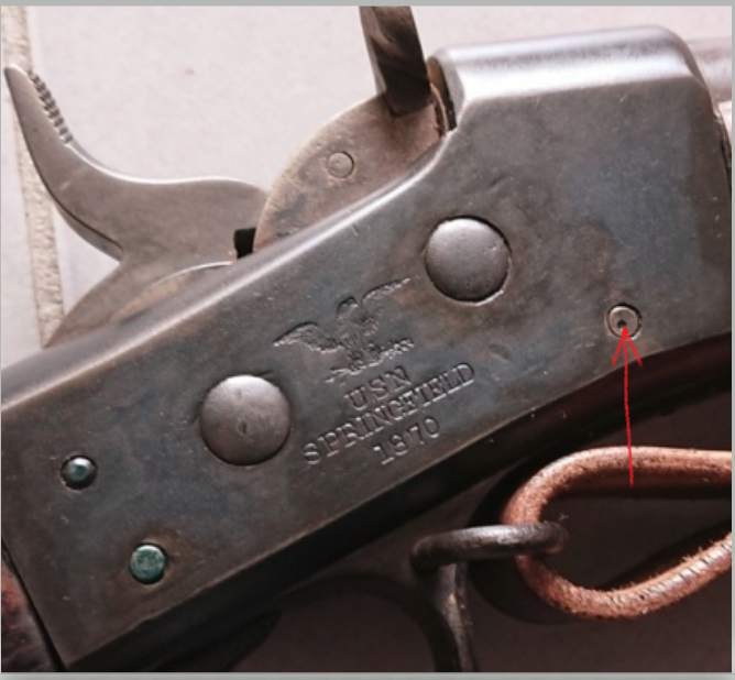 Rolling Block M1870 de l'US.Navy... made by Springfield Armory 110