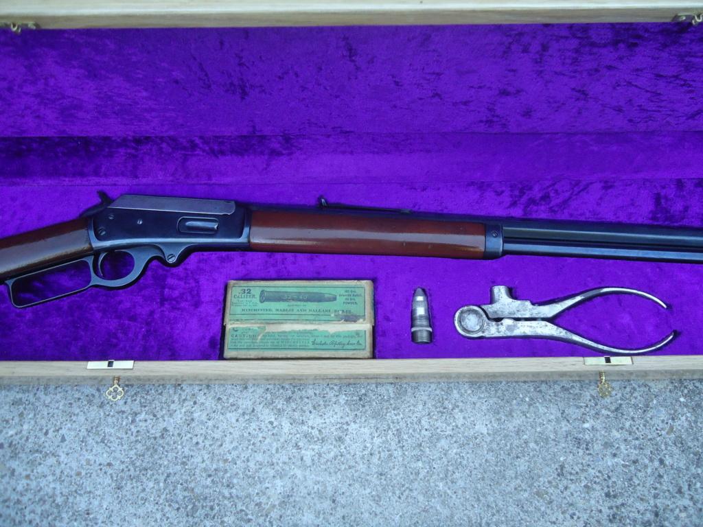 Présentation de l'outil Winchester 1894 en 30WCF Fabric10
