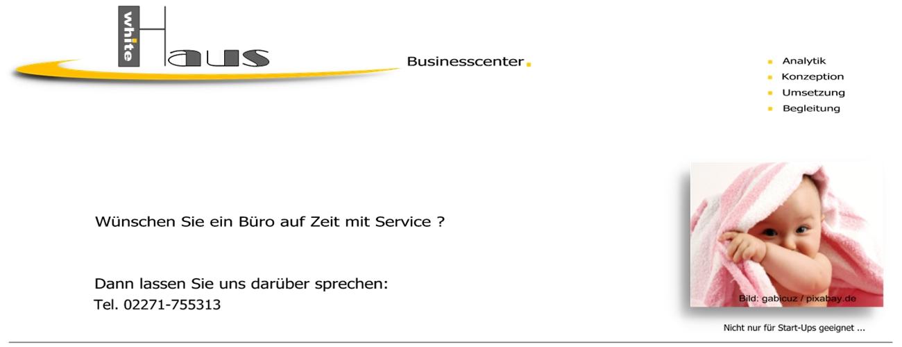 white Haus Businesscenter - Zeitbüros + Service