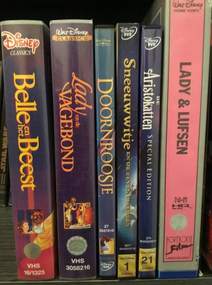 Ma collection (débutante) de VHS, DVD et Super 8 Disney 41636610
