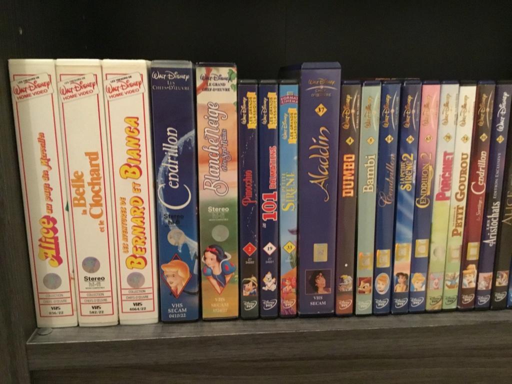 Ma collection (débutante) de VHS, DVD et Super 8 Disney 41658112