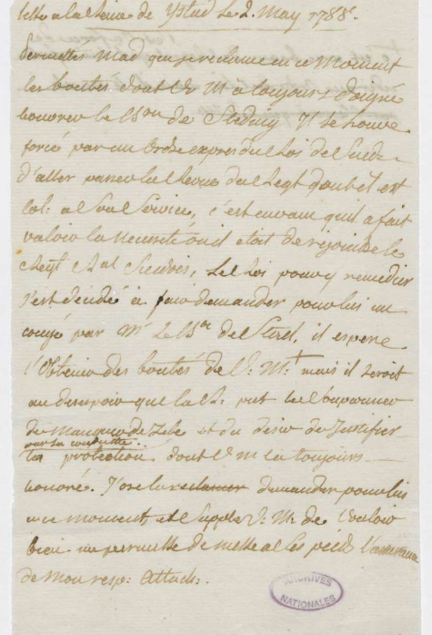 Ecrits du comte Hans Axel von Fersen Zlougr10