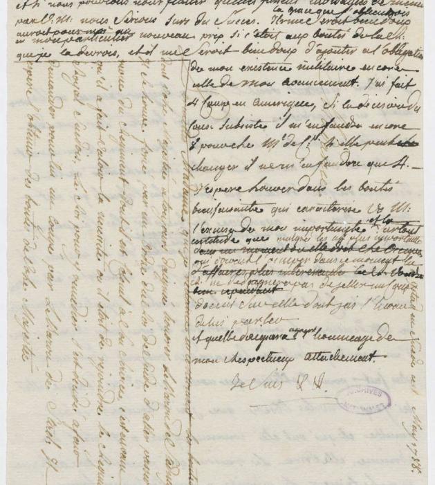 Ecrits du comte Hans Axel von Fersen Zlougr14