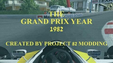 Mod F1 1982 for rFactor