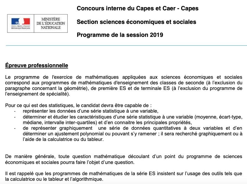 CAPES interne SES / Oraux Captur11