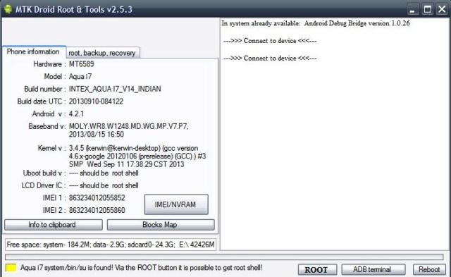 programa MTK Droid Tool herramienta multiuso para celulares chinos  Mtk_dr10