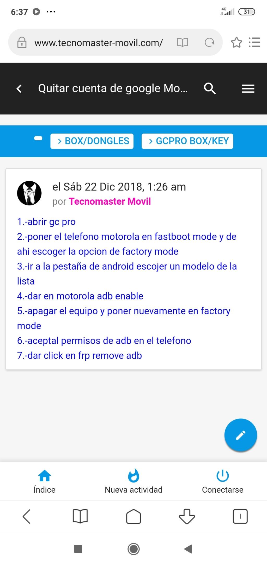 No me funciona AdSense en versión movil Screen10
