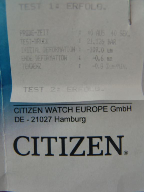 citizen - HELP : cherche adresse pour réparation Citizen plongeuse en région parisienne Dsc06312
