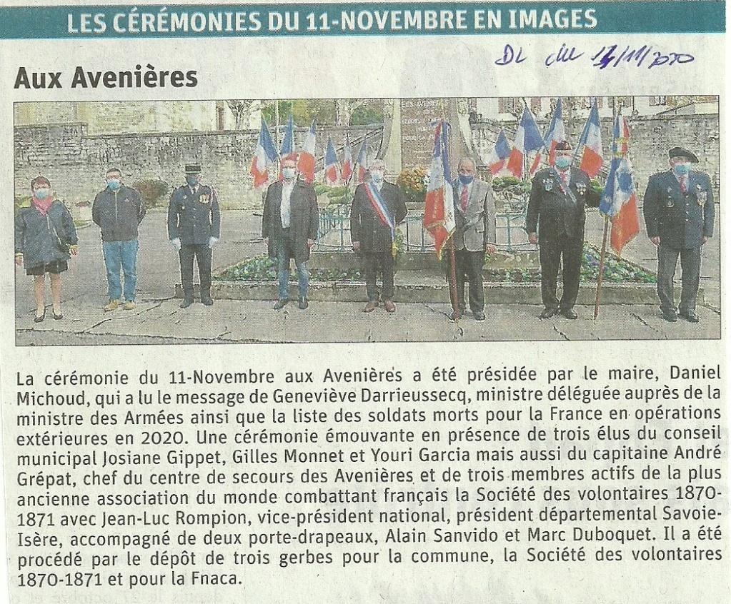 ACTIVITES DIVERSES DE LA SECTION SAVOIE ISERE - Page 6 11_nov10