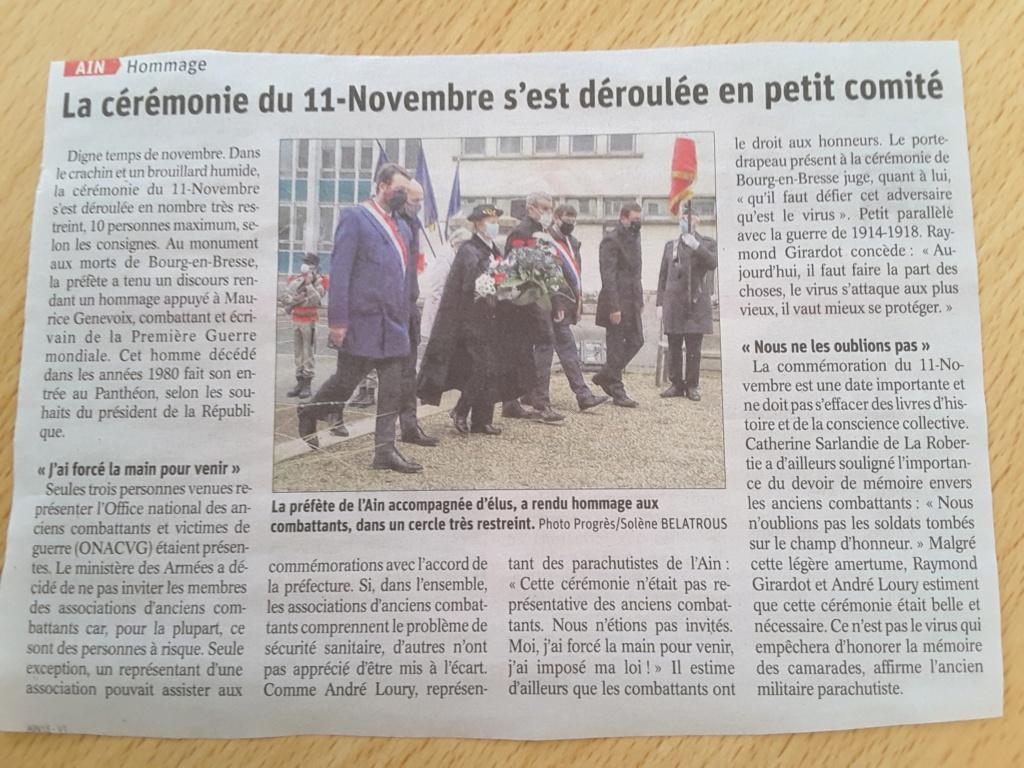 ACTIVITES DIVERSES DE LA SECTION SAVOIE ISERE - Page 6 11_nov11