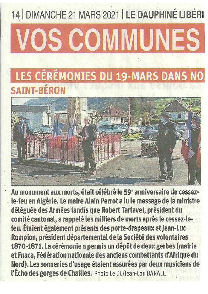 ACTIVITES DIVERSES DE LA SECTION SAVOIE ISERE - Page 7 19_mar11
