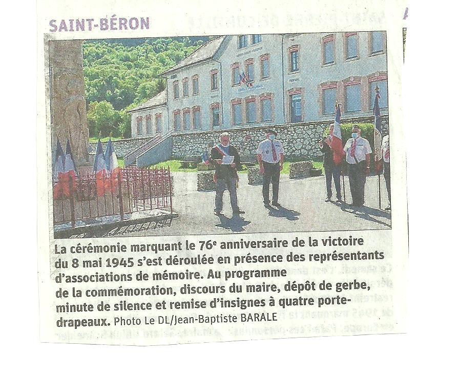 ACTIVITES DIVERSES DE LA SECTION SAVOIE ISERE - Page 7 8_mai_10