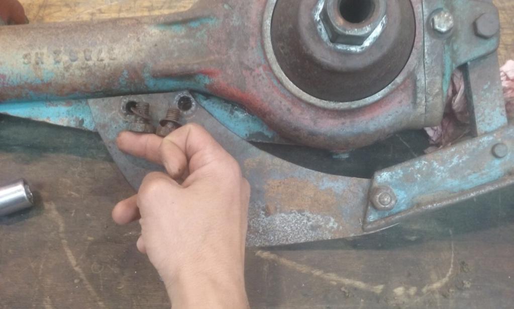 restauration - Restoration d'un Rotovator 20180418