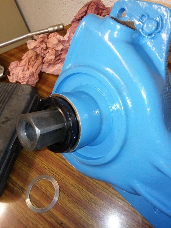 restauration - Restoration d'un Rotovator Img_2060