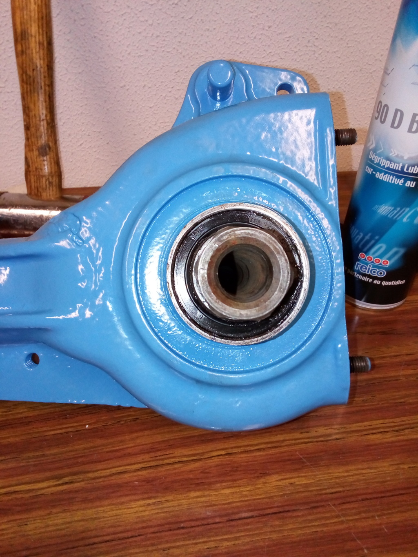 restauration - Restoration d'un Rotovator Img_2063