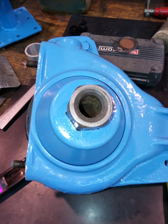 restauration - Restoration d'un Rotovator Img_2064