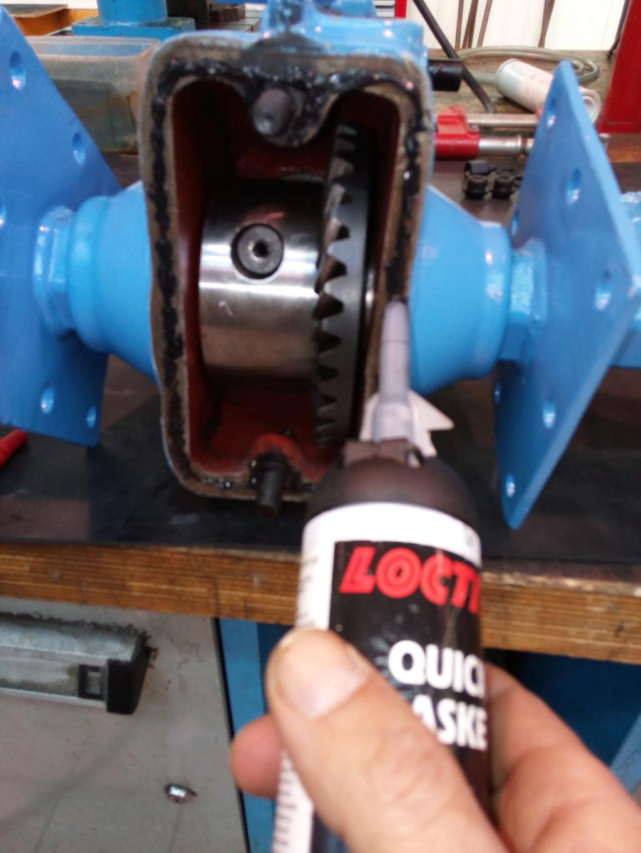 restauration - Restoration d'un Rotovator Img_2077